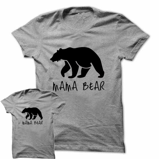 Mama Bear Matching Shirts T Shirt Tee Infant Toddler Child Kid New Mom Baby Shower Matching Couples Mommy T Shirt T2009(China (Mainland))