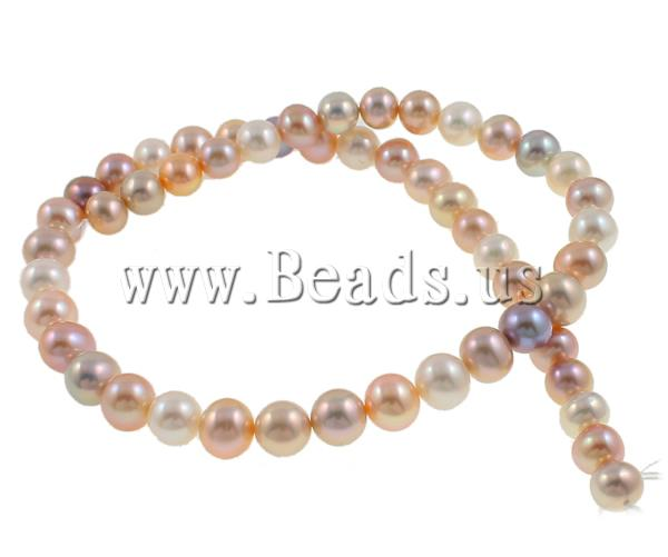 Free shipping!!!Round Cultured Freshwater Pearl Beads,Unique, natural, AAA, 8-9mm, Hole:prox 0.8mm, Length:15 Inch<br><br>Aliexpress