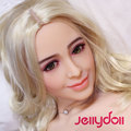 Europe Beauty real silicone blond sex dolls full body solid sex doll big ass realistic skin