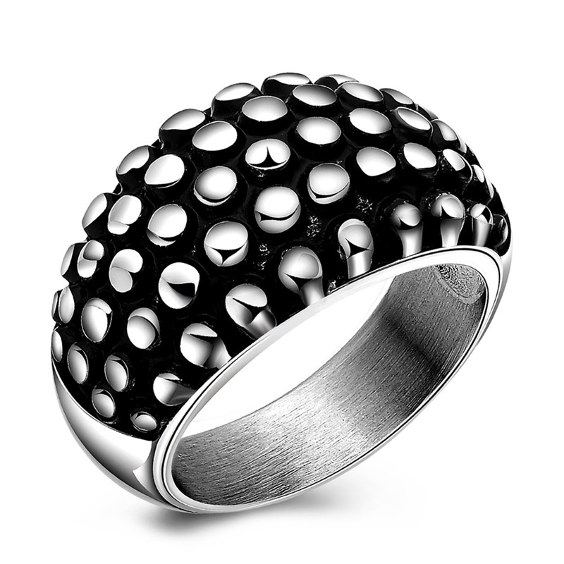 Hot Sale Wedding Engagement Rings for Couples Men Cool Steelers Titanium Stainless Steel Ring Men Wedding Jewelry High Quality(China (Mainland))