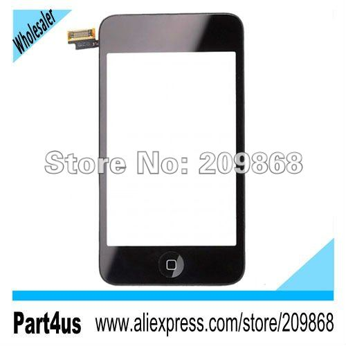 Digitizer Touch Screen Frame Chasis Assembly for iPod Touch 2G(China (Mainland))