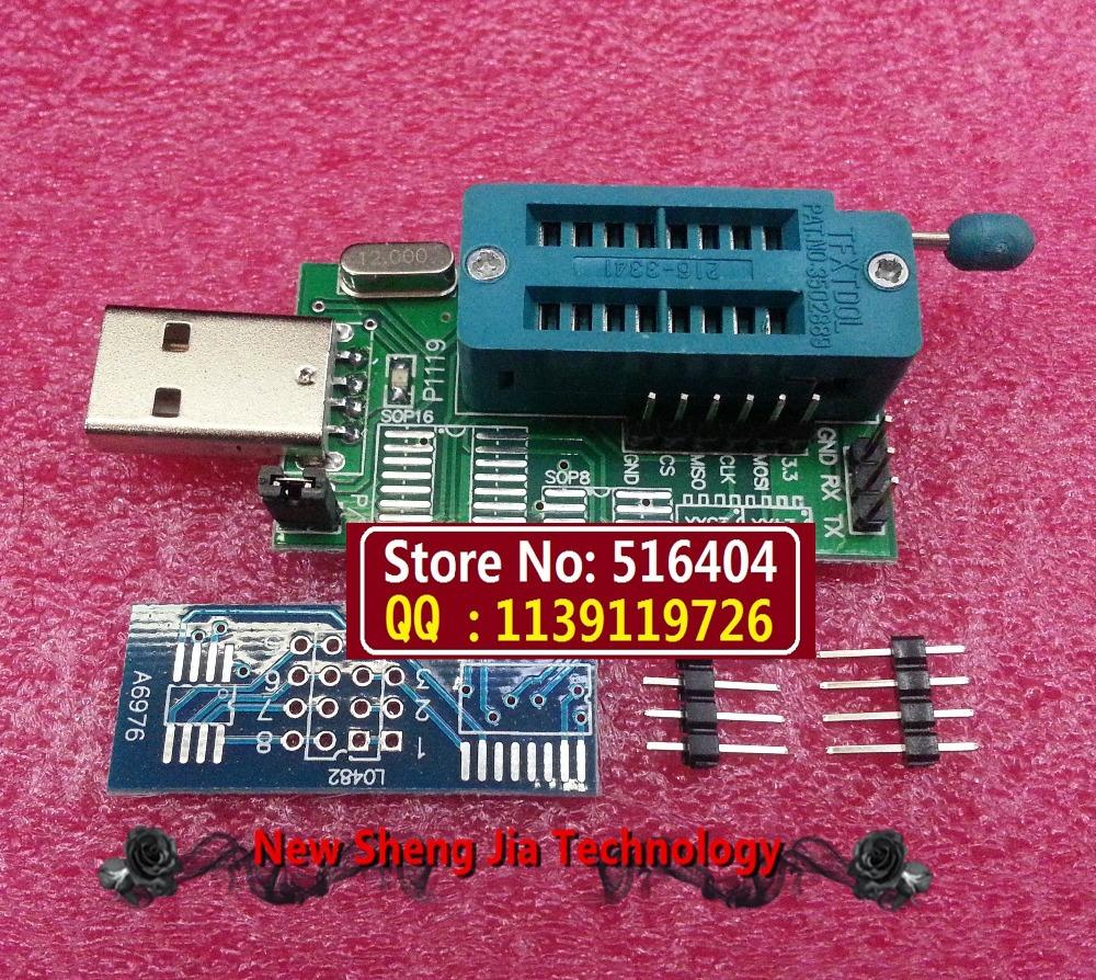 produto Free Shipping CH341A 24 25 Series EEPROM Flash BIOS DVD USB Programmer DVD programmer router Nine brush machine USB programmer