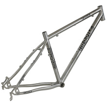 15.5''/17''  MISSILE  T-ONE  Titanium Alloy XC Mountain Bike Frame,For 26'' Wheel(China (Mainland))