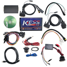 Newest Firmware V4.036 V2.13 KESS V2 Master Version no token limited KESS V2 2.13 OBD2 Manager Tuning Kit DHL Free(China (Mainland))