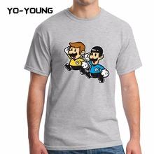 Yo-Young Summer Men T Shirts Star Trek Enterprise Spock Printed 100% 180g Combed Cotton Fashion Geek Tee Quality Customized