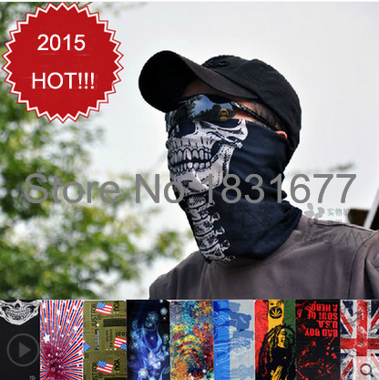 2015 Hot!!! Summer Style desigual Turban Out Door Sports Cycling Bike Bicycle Riding Variety Veil Multi Head Scarf Scarves(China (Mainland))