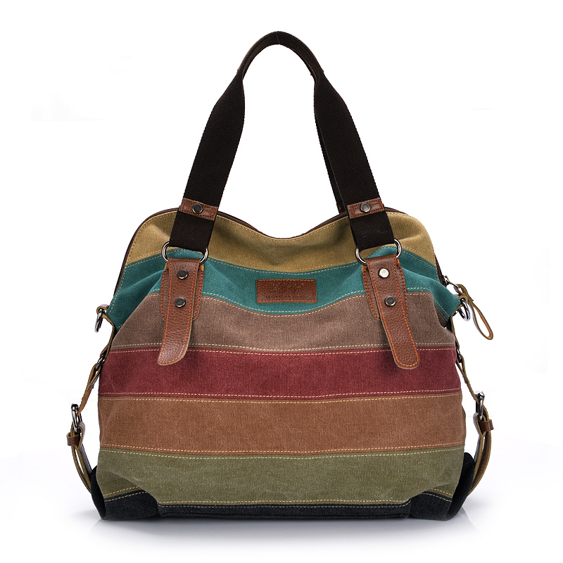 Elegant Handbag For Women Shoulder Bag Casual Patchwork Handbag Canvas Women Handbag Fahsion Ladies Hand BagsTote Bolsa Sac 2016(China (Mainland))