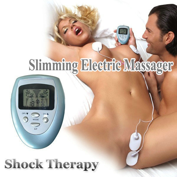 1PCS Women Sexy Stimulator&amp;Vibrator To Nipples&amp;G-Spot&amp;Pusle,Shock Therapy Slimming Massager <br><br>Aliexpress