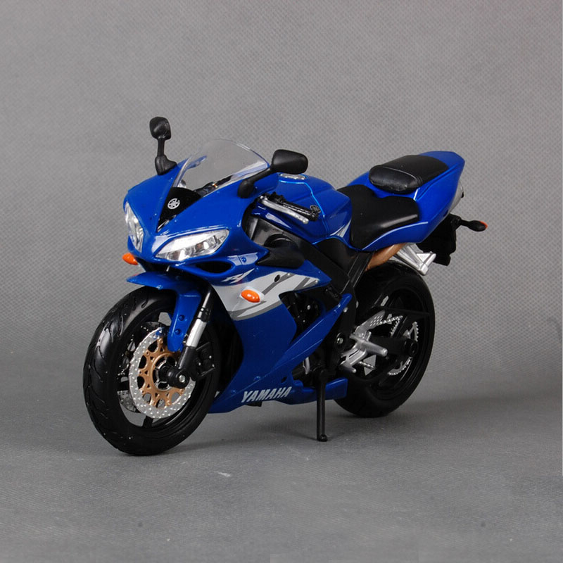 Original maisto new children mini Yamaha Supercross YZF R1 metal die cast models motor bike motorcycle race car alloy metal toys(China (Mainland))