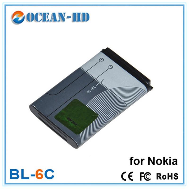 1150mAh BL-6C Rechargeable Lithium Cellphone Battery For Nokia 6235 QD 6268 6152 6015 2115i 2116i 2125i 2126i 2128i 2875 2875i(China (Mainland))