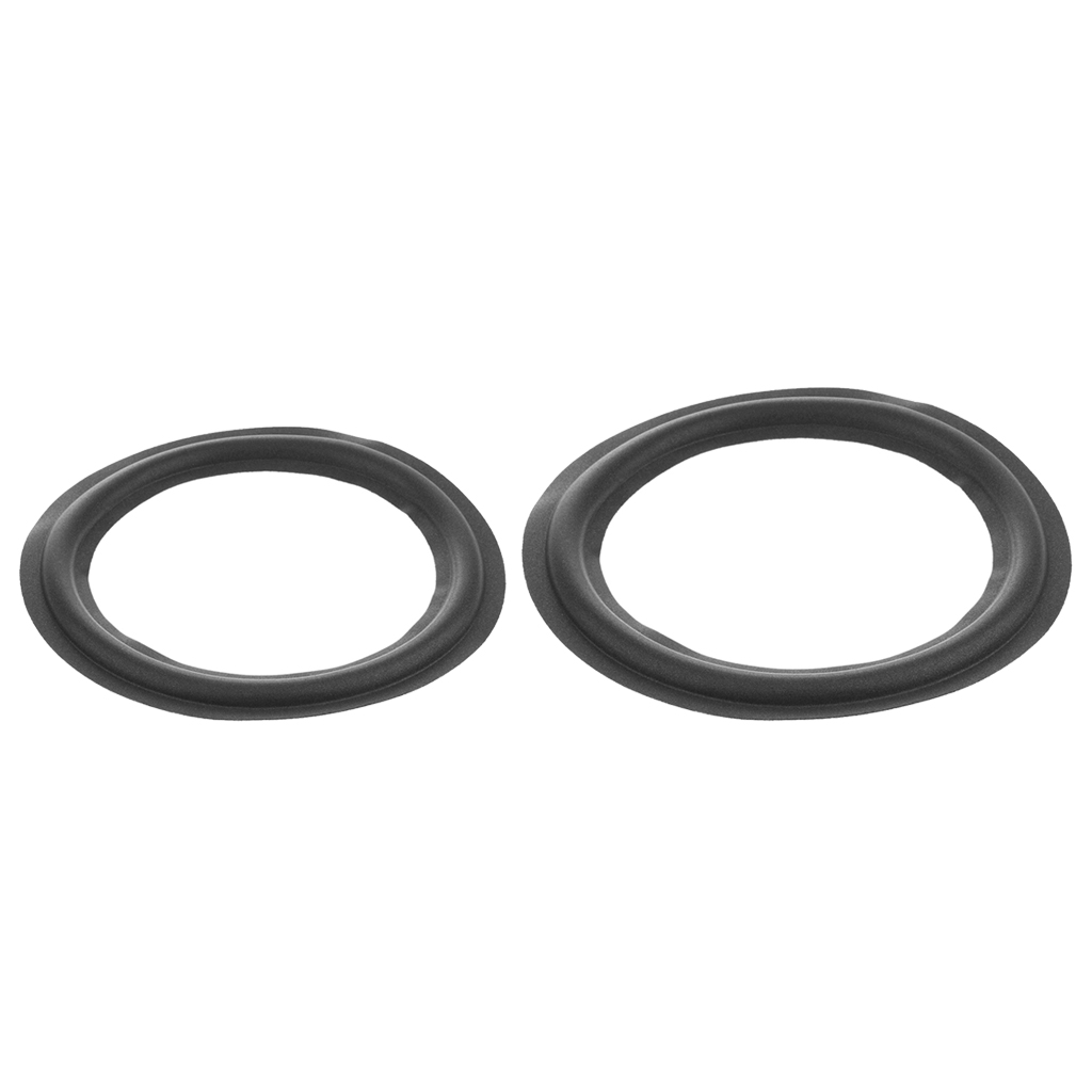Speaker Woofer Foam Edge Replacement Speaker Repair Kit 10inch +12inch Black