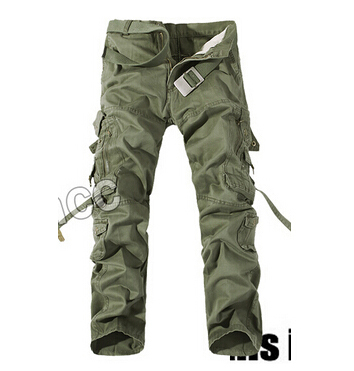 2015 Outdoor sports Men overalls pants army green Military Pants for men Cargo Pants Camouflage Man trouser plus size 28-40 3d(China (Mainland))