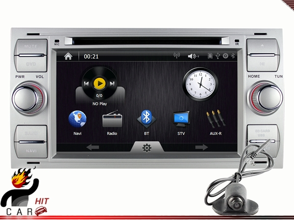 Car DVD Player GPS with Camera for Mondeo Galaxy Transit Fusion Kuga Fiesta Focus S C Max<br><br>Aliexpress