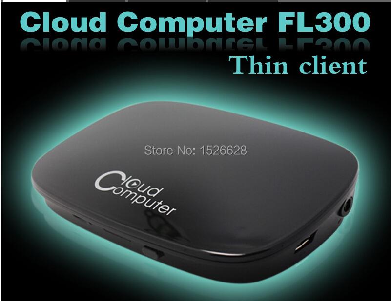 Mini PC Station Thin Client Cloud Terminals 1080P HDMI VGA RJ45 Ports Fl300 PC Share 1080P RDP 7.1 Dual Core 512MB Flash ARM-A9(China (Mainland))