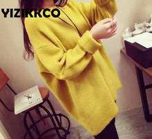 Pullovers Women Fashion 2015 Autumn Wniter Women Sweaters Candy Colors Hem design Loose warm High Quality pull femme MTQ046(China (Mainland))