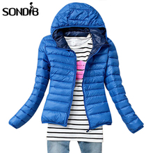 5 Color 2015 New Winter Jacket Women Outerwear Slim Hooded Down Jacket Woman Warm Down Coat padded