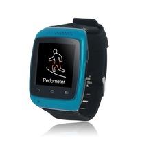 Oneisall générique Smartwatch intelligente montre Bluetooth Sync Anti – perte pour téléphone Mobile Smartphone noir rouge blanc bleu