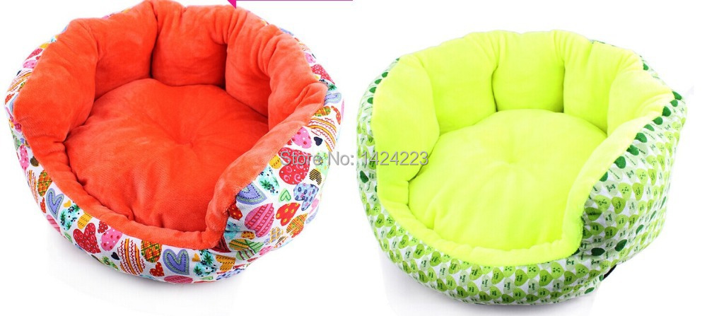 2015 New free shipping dog beds soft bed autumn winter warm beds for pet