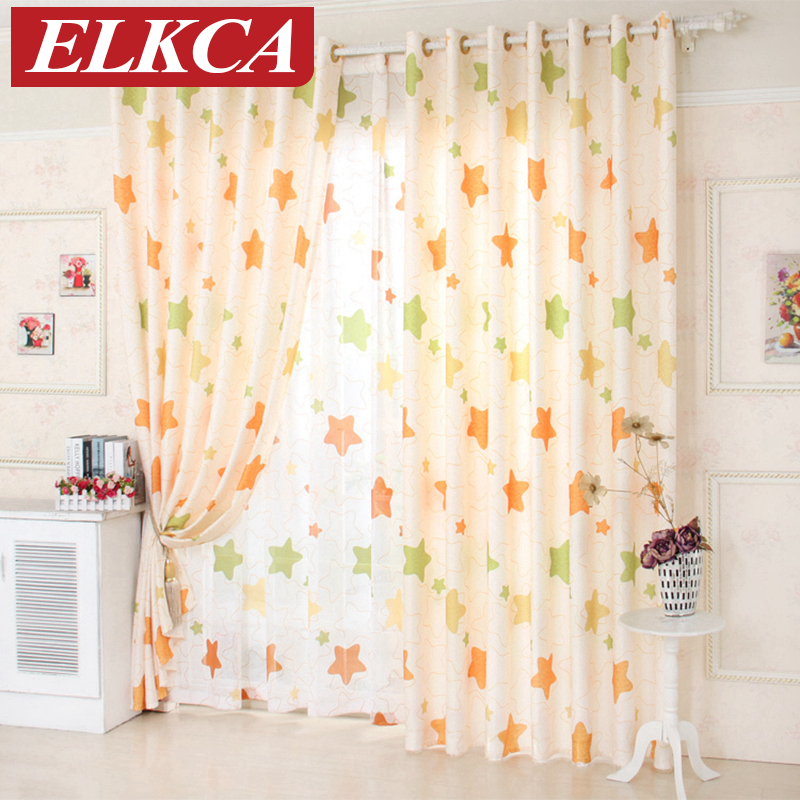 Buy Star Window Curtains For Living Room Bedroom Kitchen Cheap Living Room