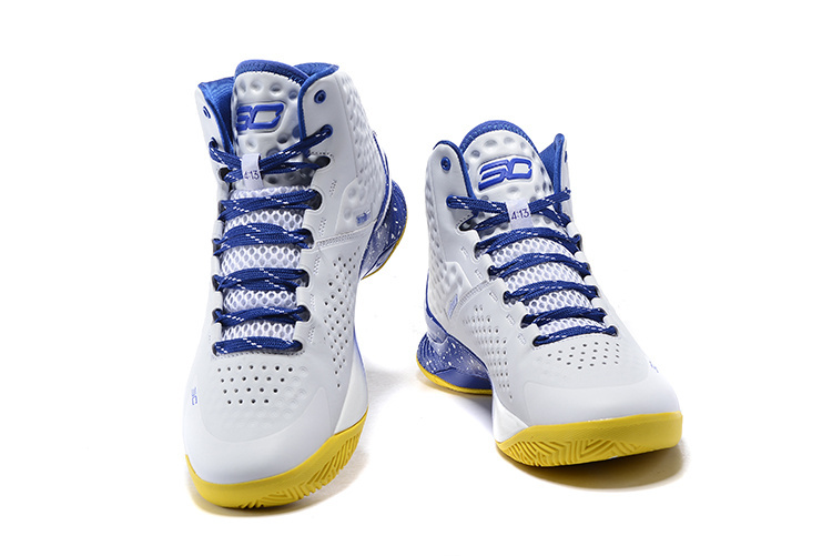 2015 Hot Christmas White Blue Yellow Stephen Curry 1 One MVP Basketball Shoes For Men Cheap Purple Father to Son Shoes Euro40~46(China (Mainland))