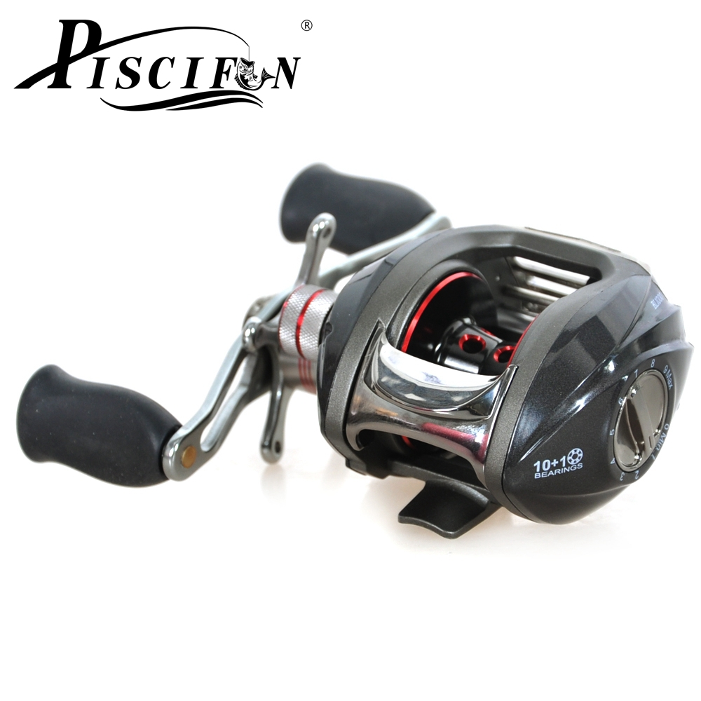 Piscifun left hand fishing reel 10 1bb bait casting reel for Left handed fishing reels