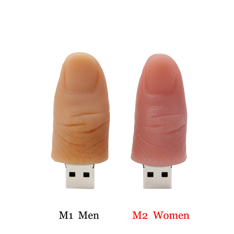 For Fashion gift man&woman 's finger thumbdrive pen drive 32g usb flash drive 64g pendrive 16g 8g 4g flash memory stick USB2.0(China (Mainland))
