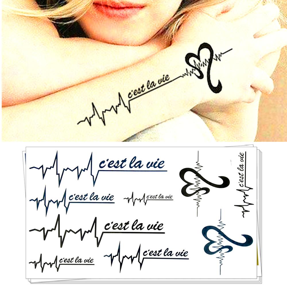 La tatouages promotion achetez des la tatouages promotionnels sur alibaba group - Ligne de vie tatouage ...