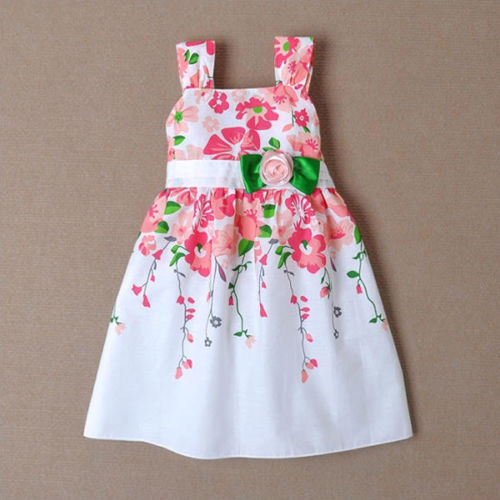 Free shipping 2015 Baby Girls Princess Sleeveless Braces  Sundress Kids Summer One-piece Dress<br><br>Aliexpress