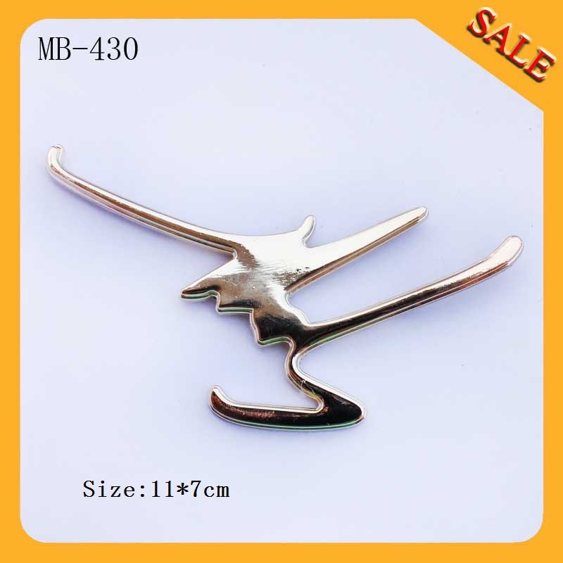 MB430 Factory made lady bag metal logo metal labels tags for handbags<br><br>Aliexpress
