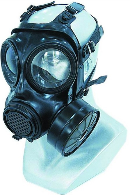 Military and Police gas masks against toxic gases and particulate aerosol from the influent air except carbon monoxide MF22(China (Mainland))