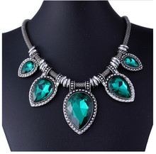 Many Designs Fashion Exaggerate Resin Necklace Women Bib Choker Necklace Collar Statement Necklace(China (Mainland))