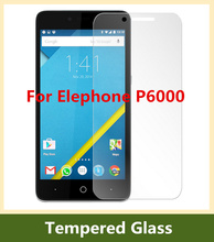 Elephone P6000 tempered glass Original Protective Film Explosion-proof Premium Screen 9H Protector Elephone P6000 Pro Free Ship