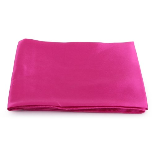 5 Pack New Hot Pink Cloth Napkins Satin for Banquet Dinner Party 51x51cm