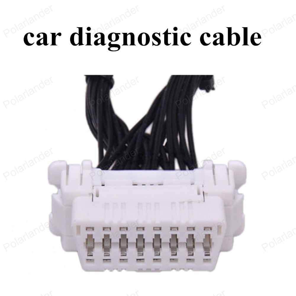 hot sell OBDII Extension Diagnostic Cable with a 16 pin socket Male to Female Adapter Connector(China (Mainland))