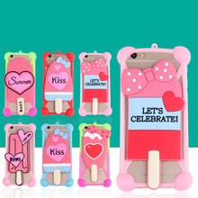 Buy Fashion Cartoon Ring Girl Rabbit Ears Stand Soft Silicone Case Lenovo k6 note Mobile Phone Cases Bumper Frame Accessories for $2.99 in AliExpress store