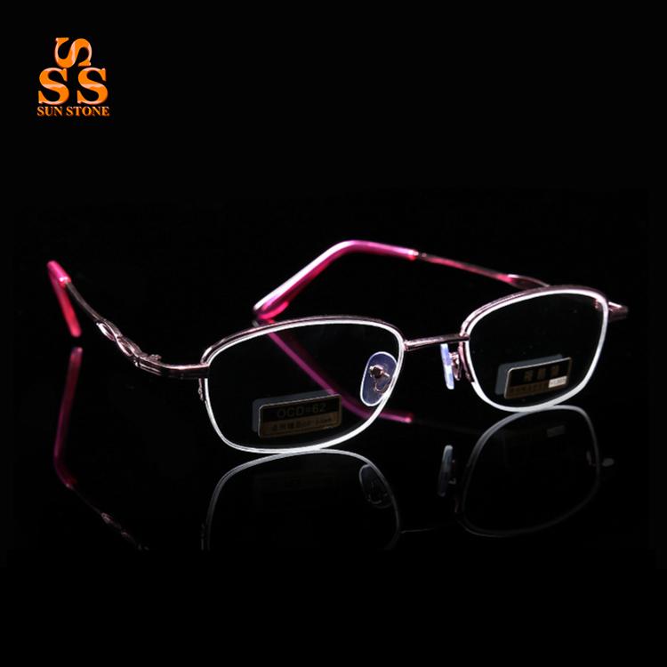 latest listing Lady's Elegant Super Light Metal Half Frame Aspheric Hard Resin Lens Presbyopic Glasses,Best Gift For Mom.G538(China (Mainland))