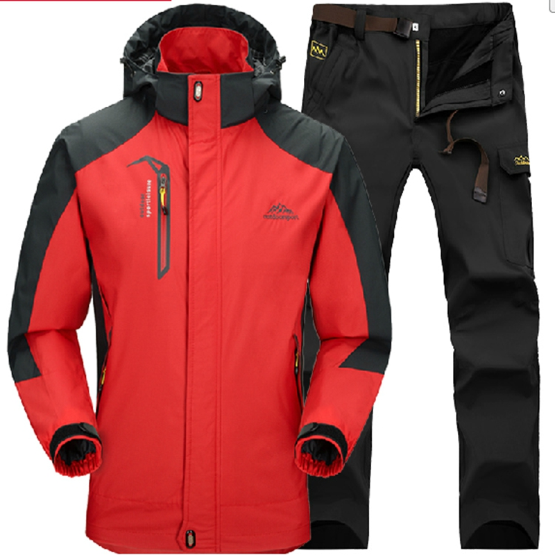 outdoor men's suits Spring waterproof ski mountaineering Jackets genuine male underwear