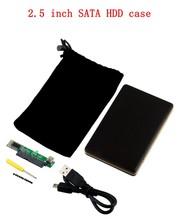 2015 High Quality 2.5″ USB 2.0 SATA HARD DISK DRIVE HDD CASE ENCLOSURE Drop Shipping
