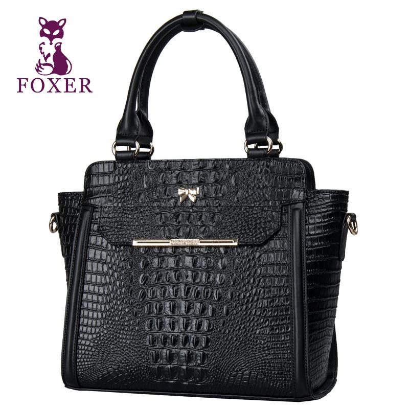2016 new fashion desigual handbag genuine leather crossbody bag crocodile tote bag women messenger bags bolsas cowhide handbag