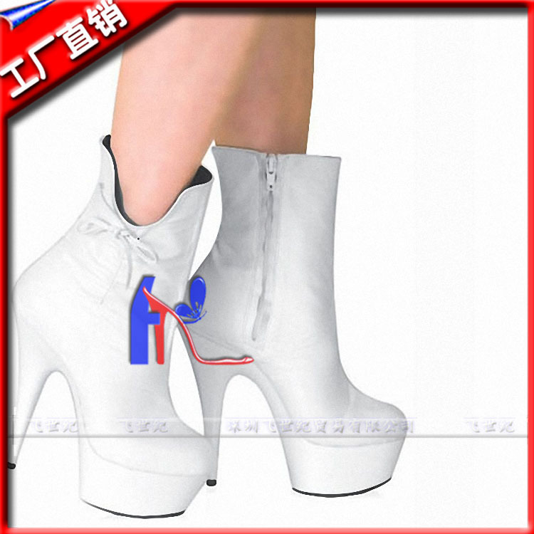 A shop on behalf of low tube short boots high heeled shoes catwalk shows 15CM wedding shoes and boots<br><br>Aliexpress