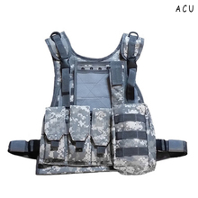 Buy Camouflage Hunting Military Tactical Vest Wargame Body Molle Armor Hunting Vest CS Outdoor Jungle Equipment for $24.82 in AliExpress store