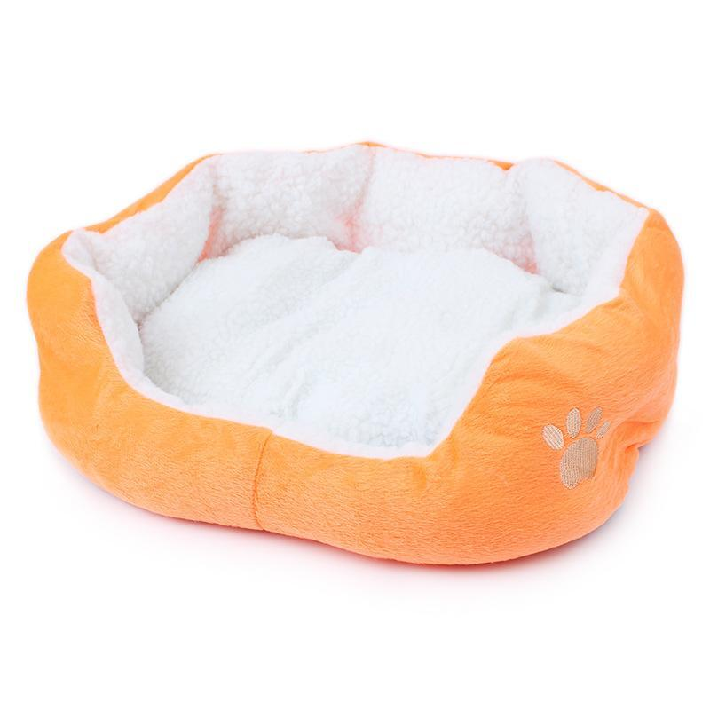 New Small Fleece Pet Dog Cat Kennel Puppy Dog Cat Bed Indoor house Dog Cat Mat(China (Mainland))