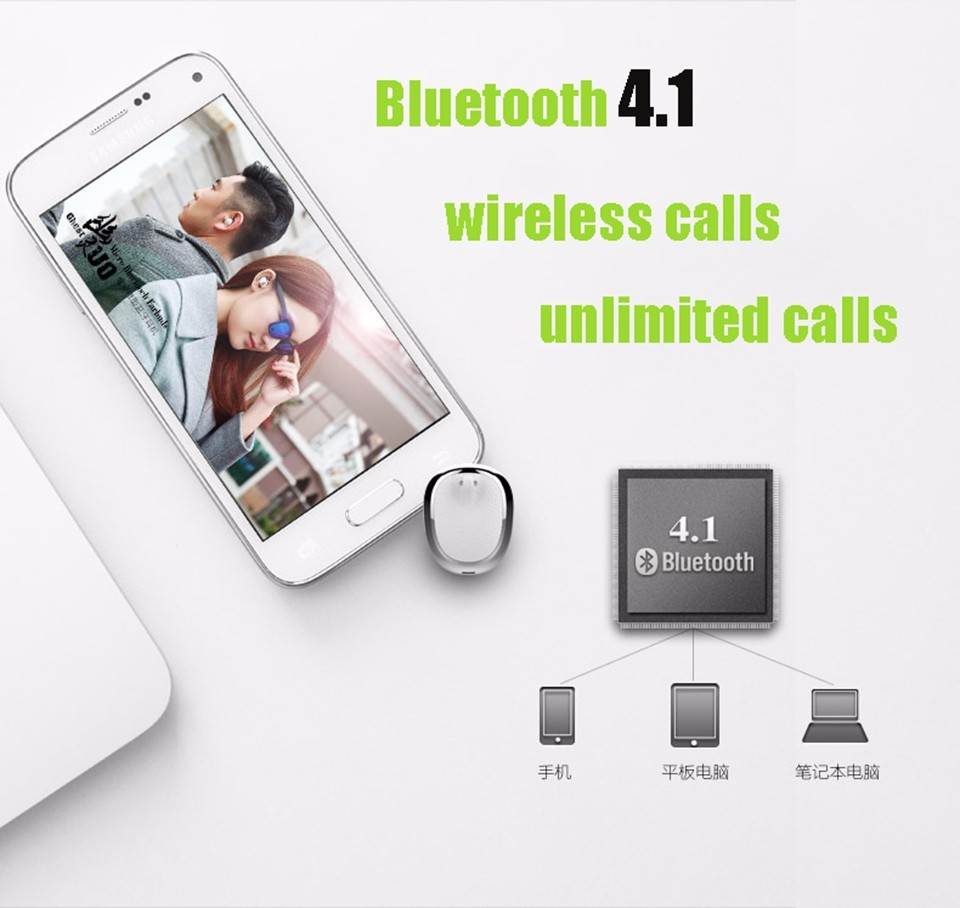 U0 Mini Wireless Bluetooth Earphone Waterproof Invisible Smallest Auriculares Bluetooth Headset Hidden Wireless Earpiece P10