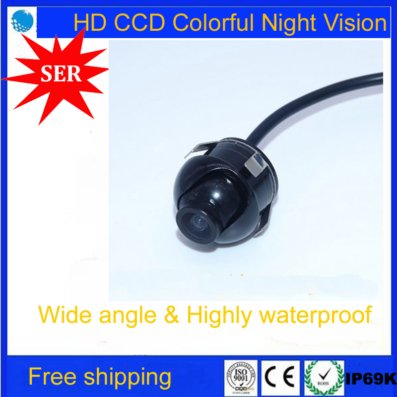 Factory Promotion Sony CCD HD night vision 360 degree car rear view camera front view side view reversing backup rearview of car(China (Mainland))