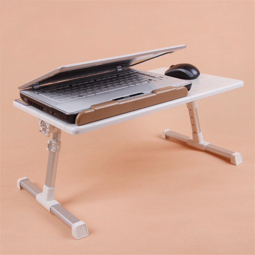 New Upgrade Adjustable Computer Desk Portable Laptop Folding Table Foldable Laptop Stand Desk Computer Notebook Bed Table(China (Mainland))