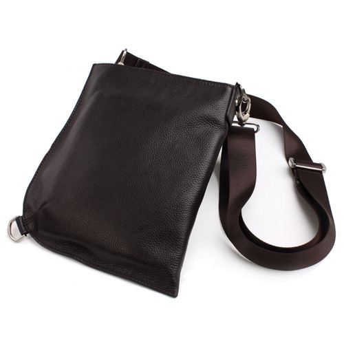 Free shipping Korean men's fashion casual shoulder bag simple diagonal multifunction leather man bag leather pouches(China (Mainland))