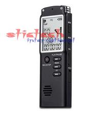 by dhl or ems 100 sets T60 Professional 8GB Time Display Recording Digital Voice / Audio Recorder Dictaphone MP3 Player(China (Mainland))