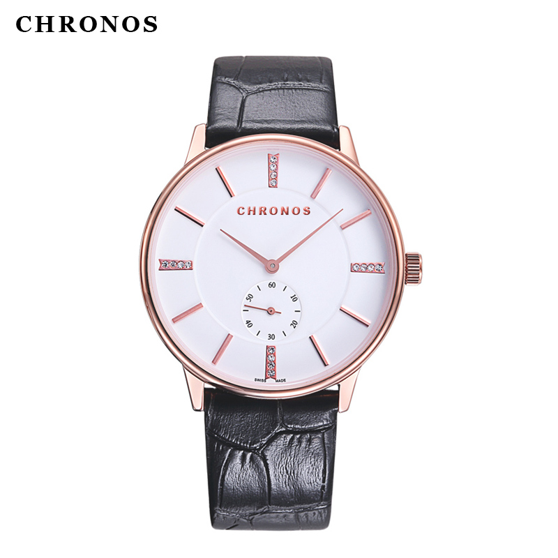 Top Brand CHRONOS Men Women 3ATM Waterproof Watches Luxury style Casual Quartz-Watch Watch 40mm Clock Relojes Mujer Montre Femme(China (Mainland))