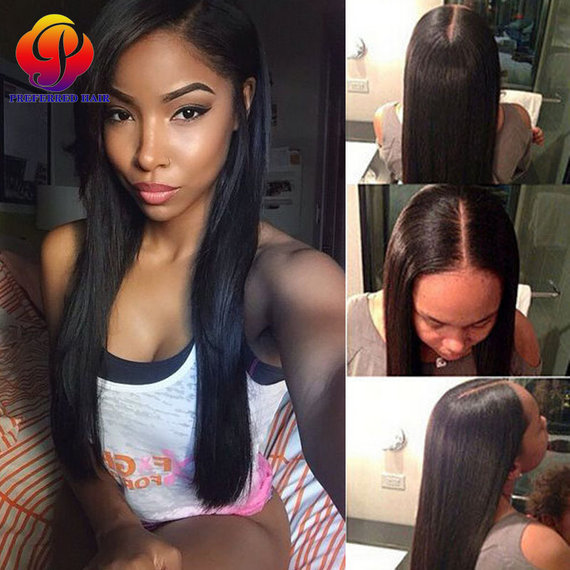 In Stock Peruvian Remy Hair Wig Long Straight Naturanl Color Full Lace Wig &amp; Lace Front Wig Lace Wig,Free Shipping<br><br>Aliexpress