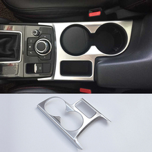 Buy FIT FOR 2015 2016 MAZDA CX-5CX5 LHD CHROME INTERIOR FRONT CUP DRINK HOLDER TRIM COVER BEZEL SURROUND INSERT FRAME CENTER GARNISH for $13.15 in AliExpress store